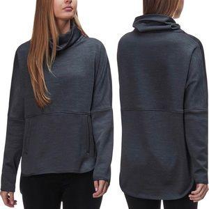 The North Face Sweaters - The North Face Gray Cozy Slacker Poncho M/L